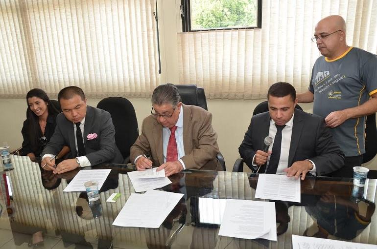 Projeto Piloto de Segurança Pública tem termo de compromisso assinado entre SL e Yixing