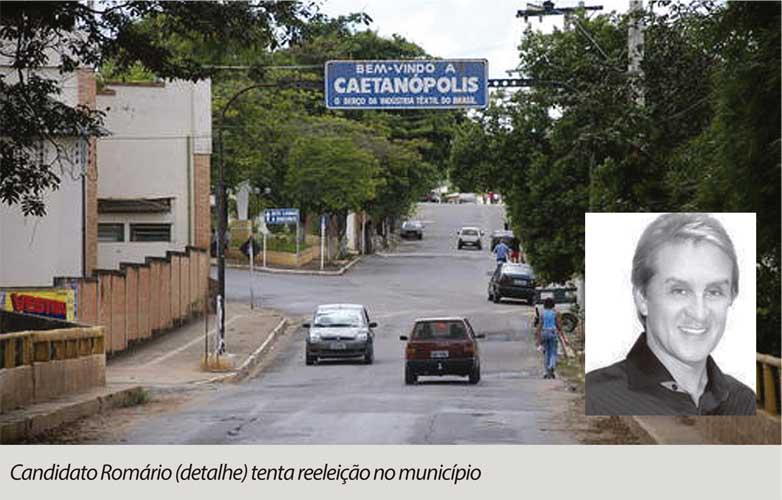 Candidato em Caetanópolis pode perder direitos políticos por nove anos