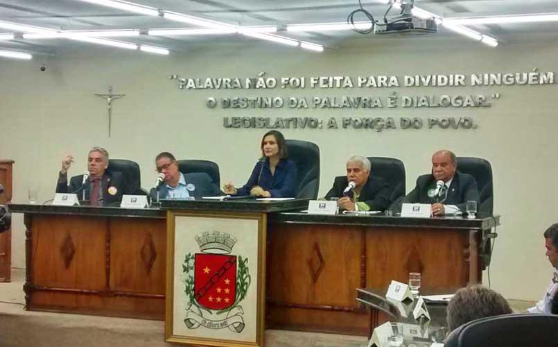 Candidatos a prefeito de Sete Lagoas participam de debate da TV Câmara