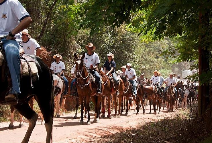 1ª Cavalgada Serra Cachoeira vai de SL a Caetanópolis