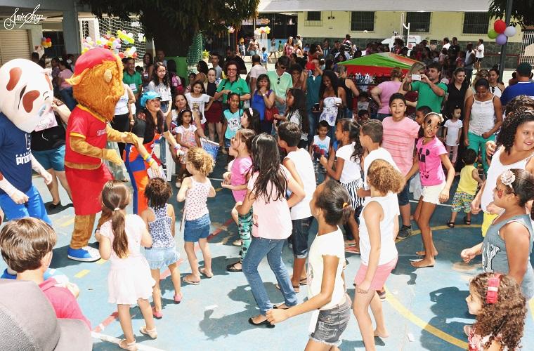 Festa do HNSG alegra crianças