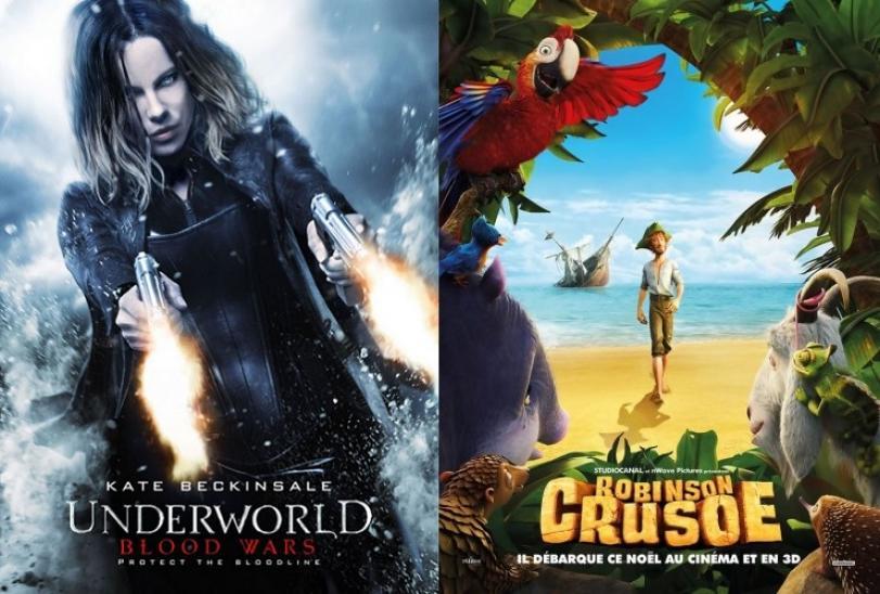 Anjos da Noite e As Aventuras de Robinson Crusoé são as estreias da semana no Cineplex