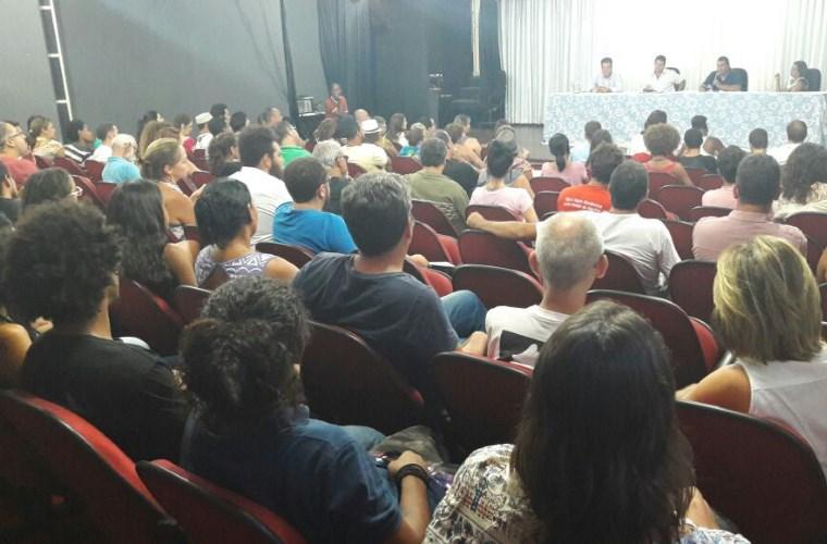 Classe artística se reúne com Prefeitura e Câmara para discutir reivindicações da Cultura