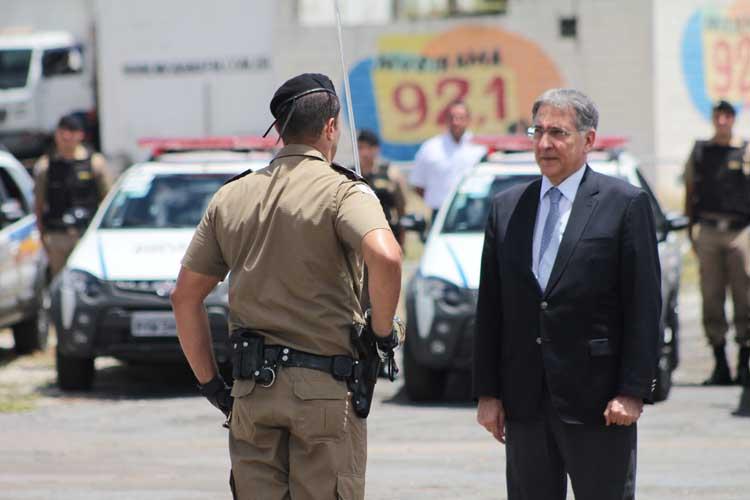 Governador Pimentel entrega 27 viaturas da Policia Militar em Sete Lagoas