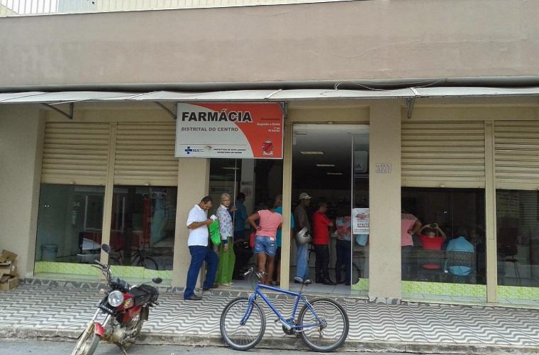 Farmácias municipais passam a ter horário de atendimento reduzido