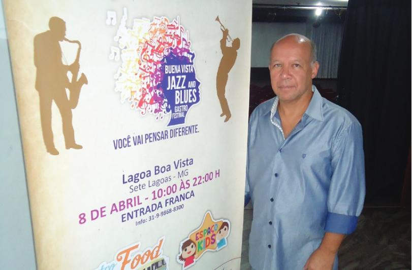 Ele quer colocar Sete Lagoas na rota dos grandes festivais do Brasil
