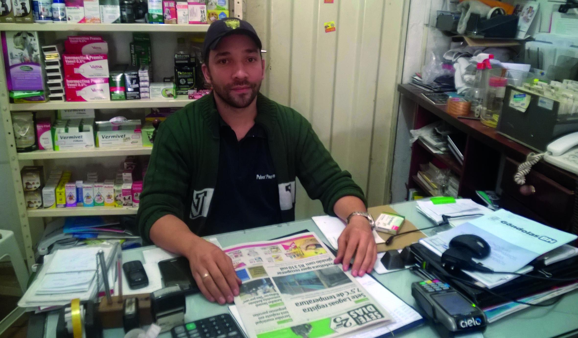 Carlos Mesquita, médico veterinário e sócio da Funny Dog, na cidade de Matozinhos.