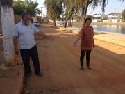 Moradores da Catarina sofrem com poeira em  um dos principais cartões postais da cidade