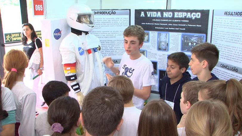Inscrições abertas para projetos inovadores na Feira Nacional de Ciência e Tecnologia 2017