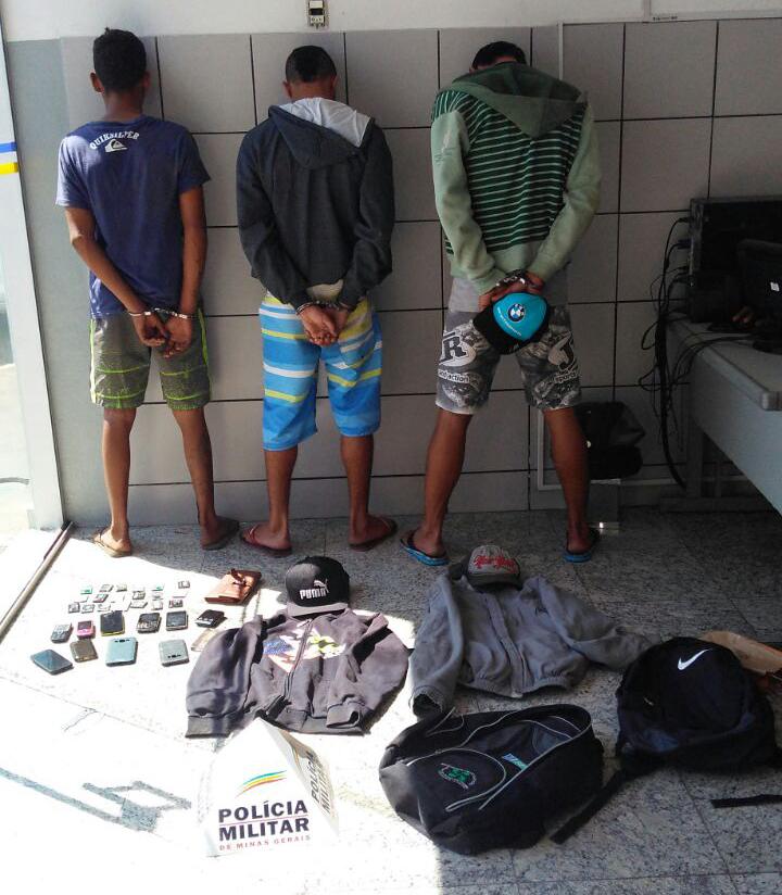 Polícia prende suspeitos que faziam série de assaltos em ônibus intermuncipais
