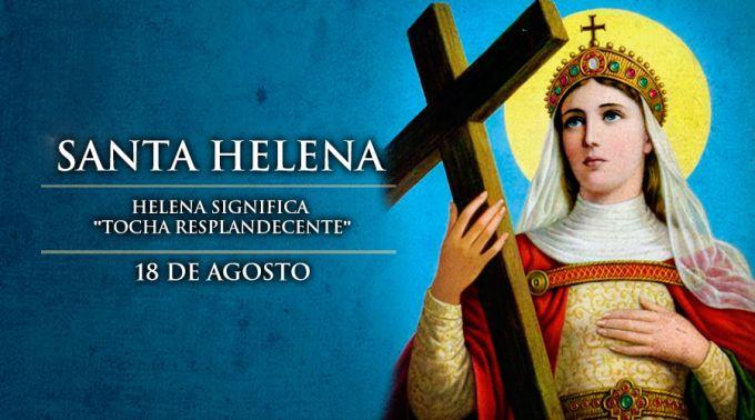 Igreja celebra 18 de agosto: Dia de Santa Helena, referência em Sete Lagoas