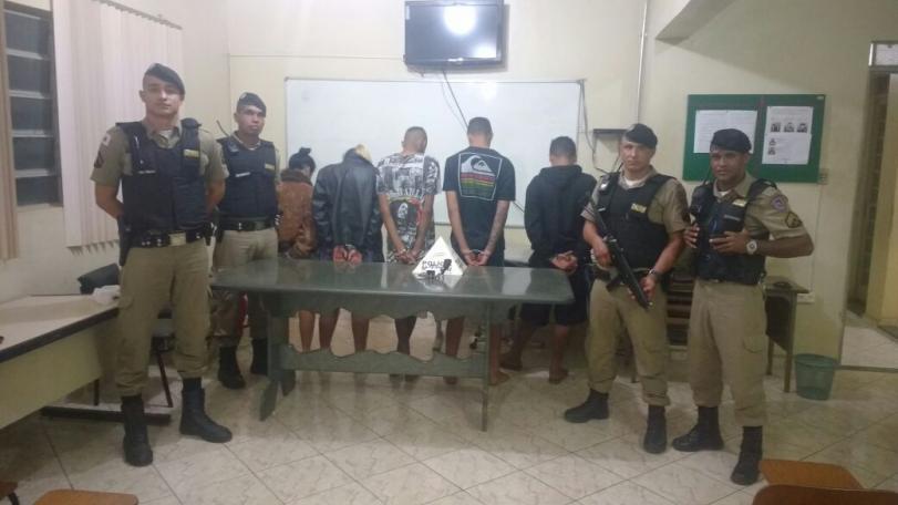 PMs prendem acusados de tentativa de homicídio em Paraopeba