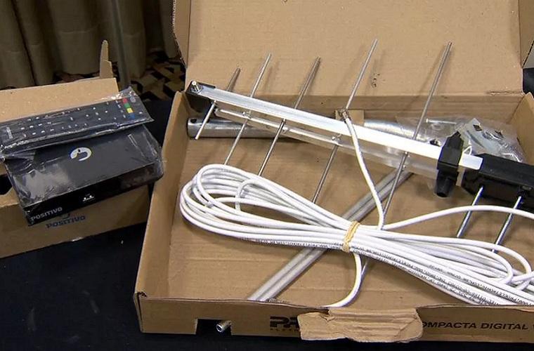 Como fazer a instalação do conversor e da antena digital