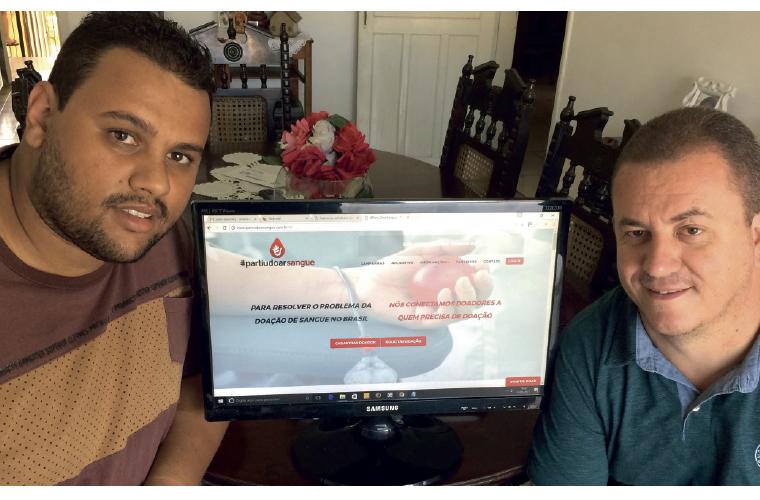 O professor de Ciência da Computação das Faculdades Promove de Sete Lagoas, Orlando Silva, e o recém-formado em Sistemas de Informação Thiago Abreu Rodrigues, são sócios da startup