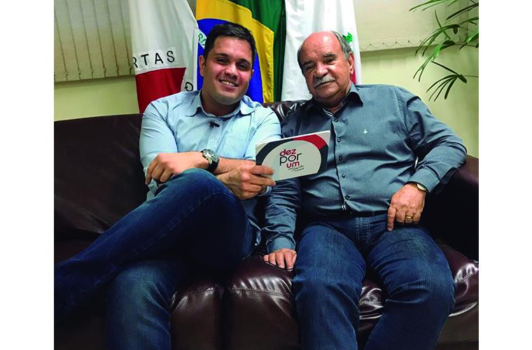Dez por um: Os dez primeiros meses do prefeito Leone Maciel