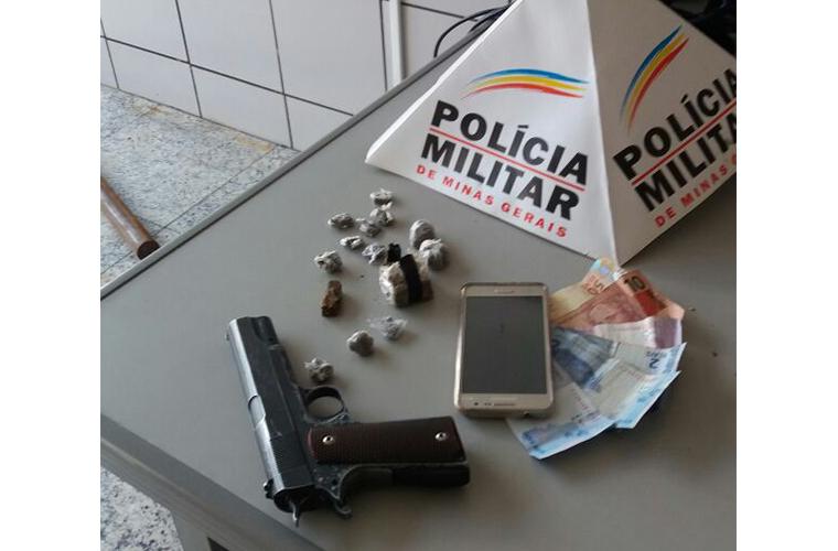 Casal é preso no bairro Planalto por tráfico de drogas
