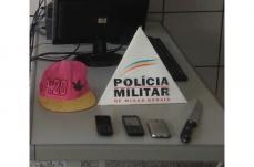 Mulher é roubada no Centro e polícia recupera celular