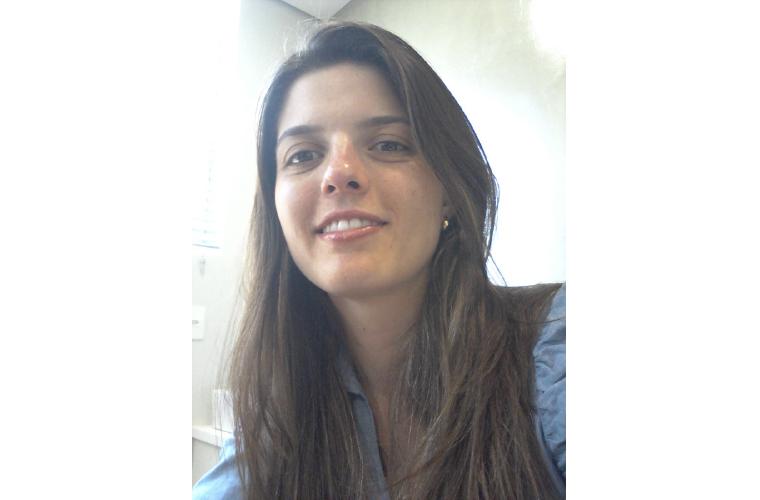 A nutricionista Vanessa Resende
