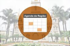 Programação de eventos da região