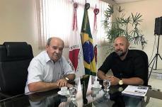 Prefeito de SL recebe visita do prefeito de Ribeirão das Neves