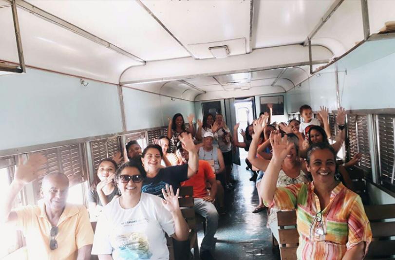Projeto leva sete-lagoanos e visitantes a pontos turísticos