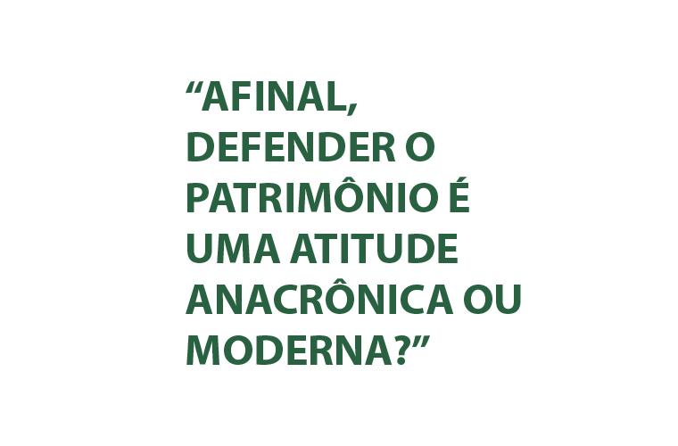 Anacronismo e modernidade