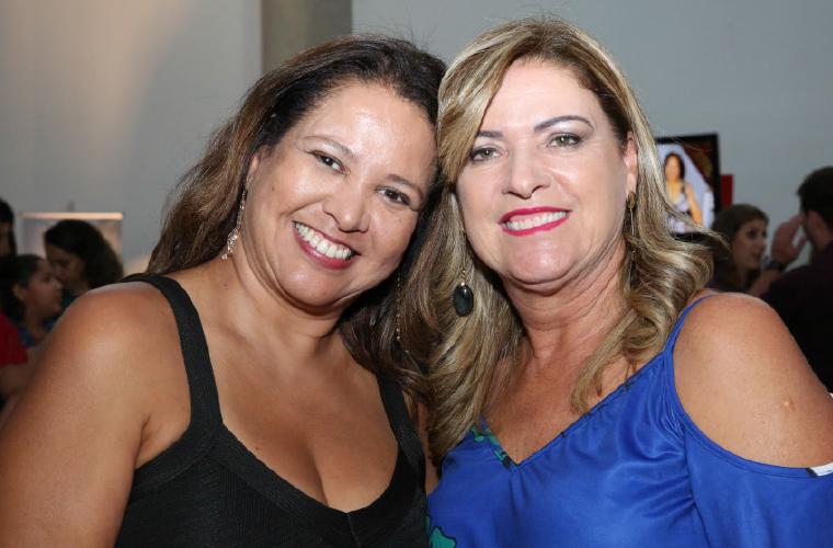 Valéria Reis e Yara Guiscem