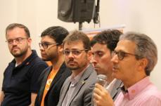 Empresário Romeu Zema  faz palestra em  Sete Lagoas