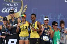 Atletas de Sete Lagoas conquistam o segundo lugar no Circuito de Corridas Caixa, em BH