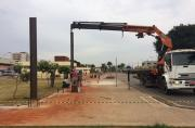 Obras de Cobertura do Terminal Urbano estão aceleradas