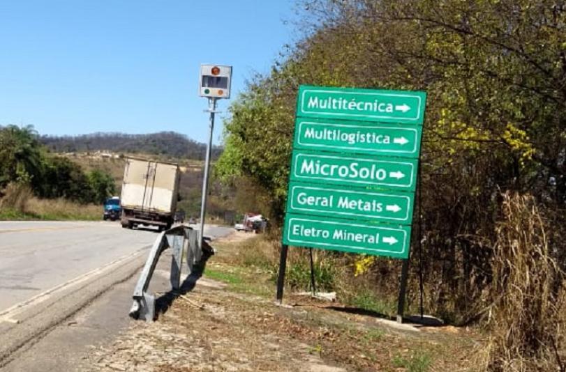 Radares na estrada Sete Lagoas - Cachoeira da Prata passam a multar a partir desta terça
