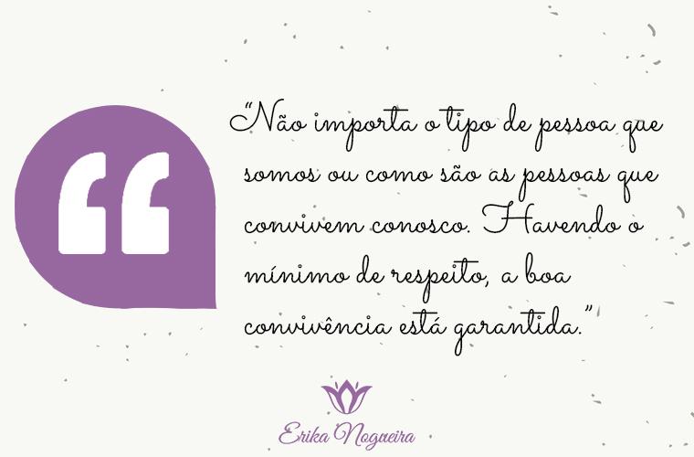Erika Nogueira: Pessoas de todos os tipos