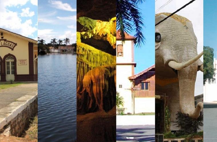 Sete cidades da região são certificadas para receber ICMS Turismo 2018