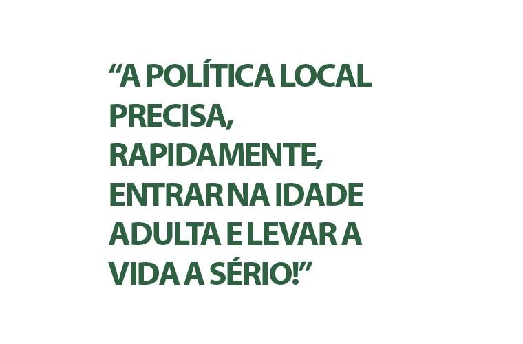 Flávio de Castro: Infantilidade