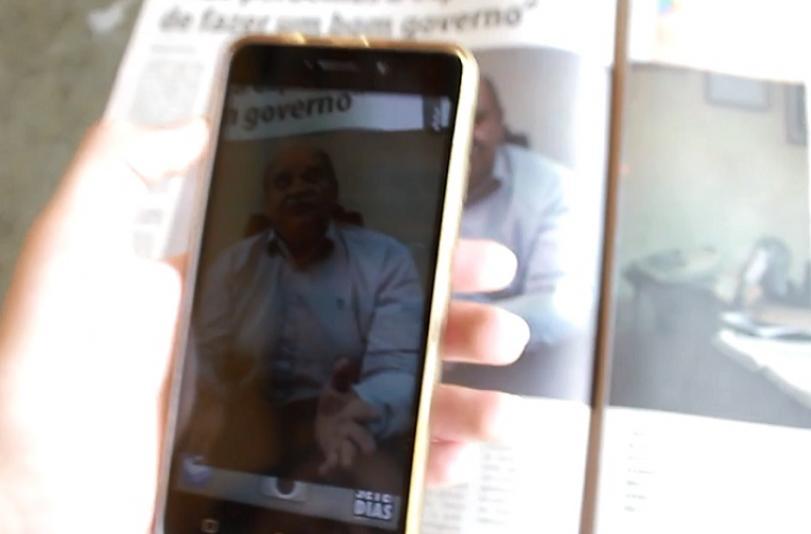 SETE DIAS estreia tecnologia de Realidade Aumentada