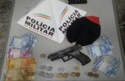 Polícia apreende menores suspeitos de assaltar padaria com réplica de arma