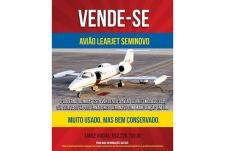 Governador Romeu Zema 'anuncia' venda de avião do estado nas redes sociais