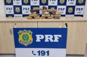 PRF apreende mais 12 quilos de maconha em Sete Lagoas
