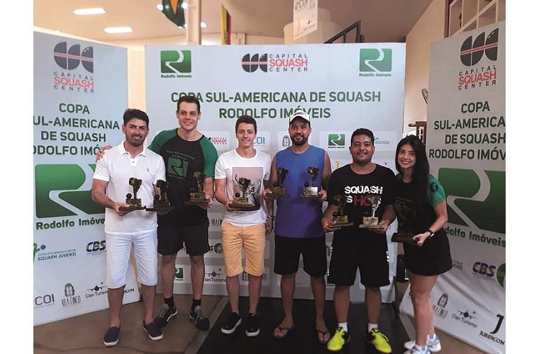 Sete-lagoanos se destacam em  competição internacional de Squash