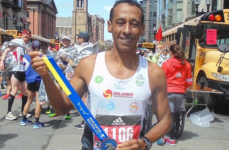 Uilia Pires conquista 5º lugar da categoria na Maratona de Boston