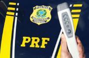 PRF de Sete Lagoas estreia testes com bafômetro passivo