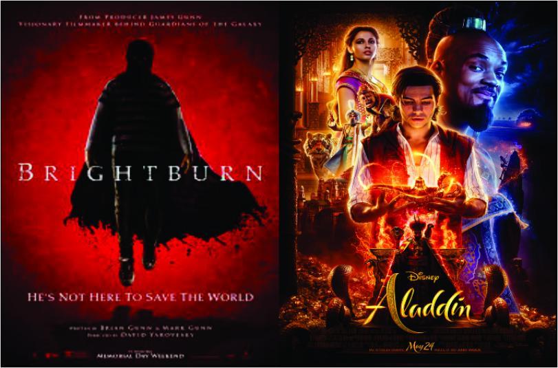 Aladdin e Brightburn são as estreias da semana no Grupo Cine