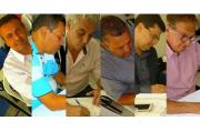 Candidatos assinam carta de compromisso com transparência no Observatório Social