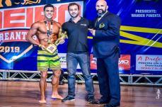 Sete-lagoano conquista seu segundo troféu ao ganhar o Campeonato Mineiro de Bodybuilding