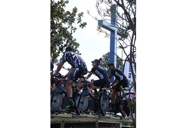 Marcao ride for life, Camila Chamon, Marquinho Lopes