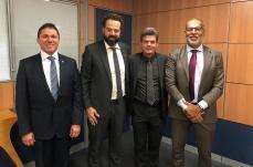 Duílio de Castro vai a Brasília atrás de recursos para Saúde e Esporte