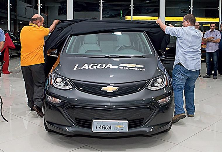 Lagoa Veículos é a primeira concessionária Chevrolet de Minas a apresentar o Bolt Ev