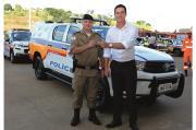 Deputado Douglas Melo entrega  Patrulha Rural para o 25º Batalhão da PM