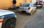 Polícia Militar recupera carro furtado em Sete Lagoas