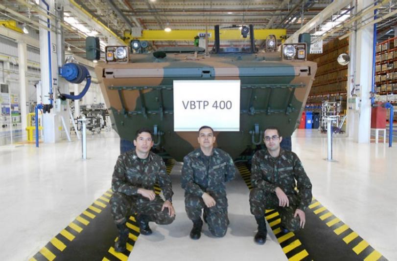 Iveco de Sete Lagoas entrega Guarani número 400 ao Exército Brasileiro